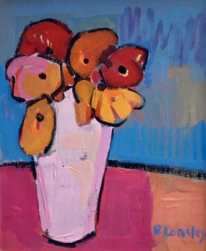 Bridget Lansley, In the Pink (Hungerford Gallery)