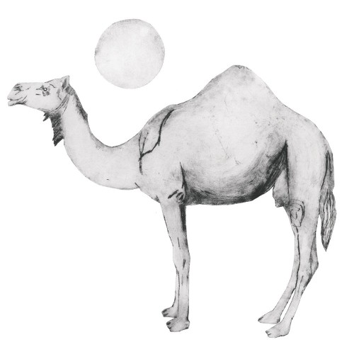 Beatrice Forshall, Camel Black and White (Unframed)