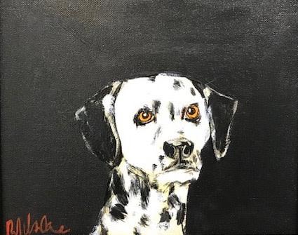 Robert James Clarke, Dalmatian (Hungerford Gallery)