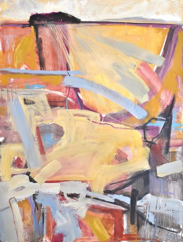 Emma Haggas, Trees on the Horizon (London Gallery)