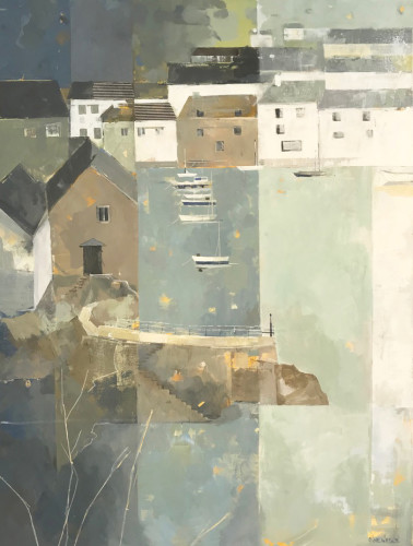 Angela Wilson, Polperro Early (Hungerford Gallery)