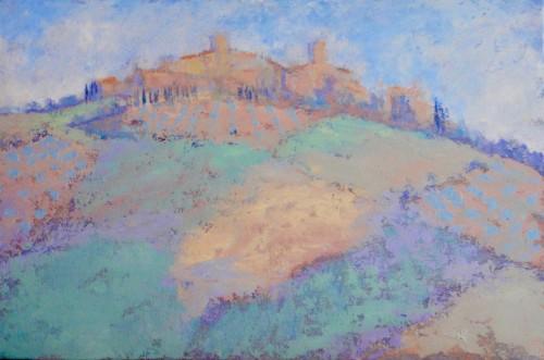 Hermione Owen, Tuscan Village (London Gallery)