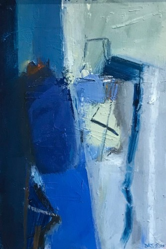 Dafila Scott, Blue Figure
