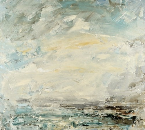 Louise Balaam, Norfolk Sky, Salt Air (London Gallery)