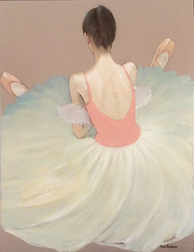 Katya Gridneva, Balerina Resting (Hungerford Gallery)