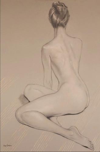 Katya Gridneva, Nude (Hungerford Gallery)