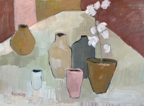 Bridget Lansley, The Long Table