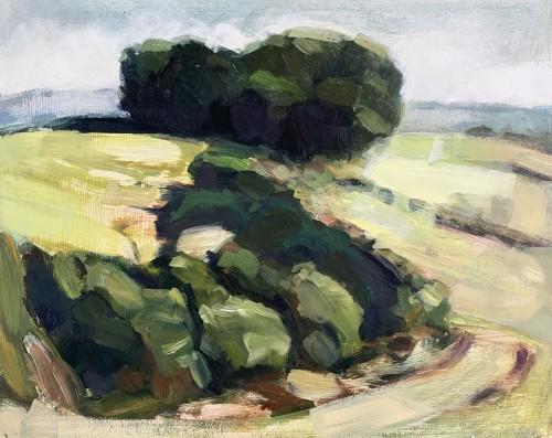 Minnie Shaw Stewart, Lambourn Downs V (Hungerford Gallery)