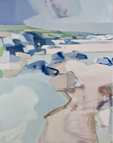 Myles Oxenford, Constantine Bay from Boobys (London Gallery)