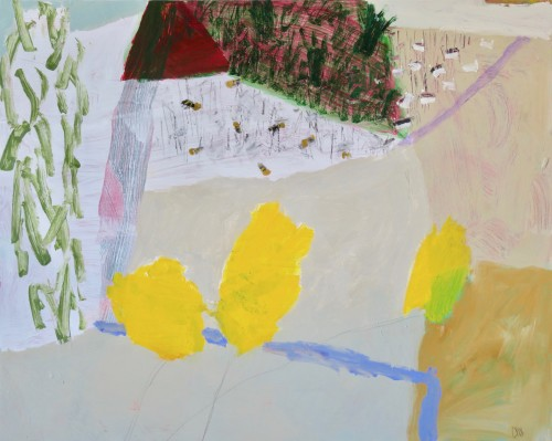 David Pearce, Bumble Bees and Buttercups (London Gallery)