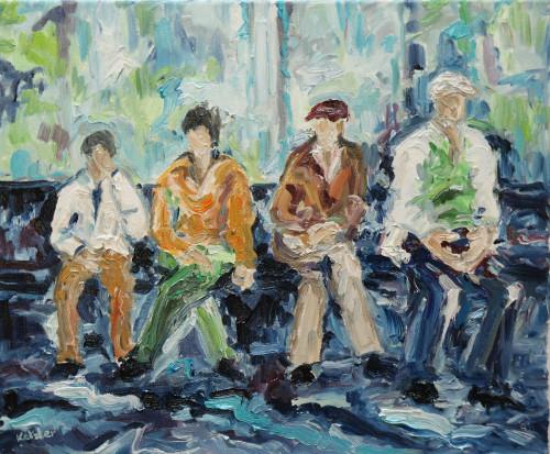 Fi Katzler, Passing the Time (London Gallery)