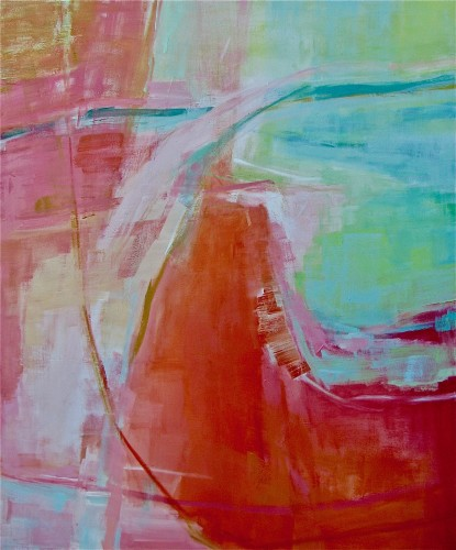 Trudy Montgomery, Wanderlust (Hungerford Gallery)