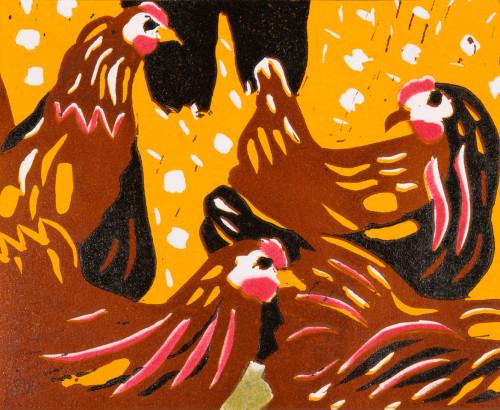 Dione Verulam, Chickens