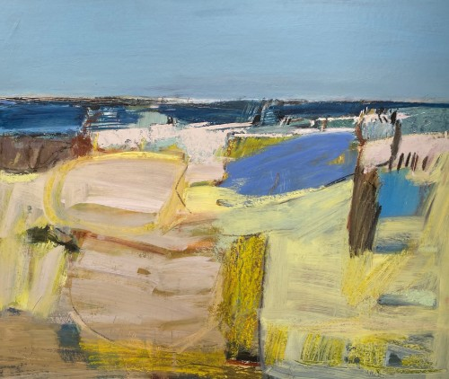 Dafila Scott, Through the Dunes to the Sea (Hungerford Gallery)