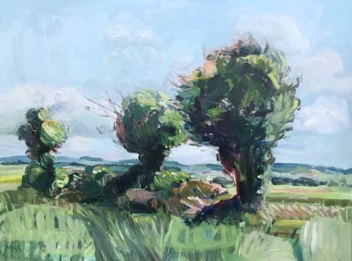 Minnie Shaw Stewart, Manor Lane, Leckhampstead (Hungerford Gallery)