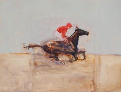 Antoine de La Boulaye, Jockey III (Hungerford Gallery)