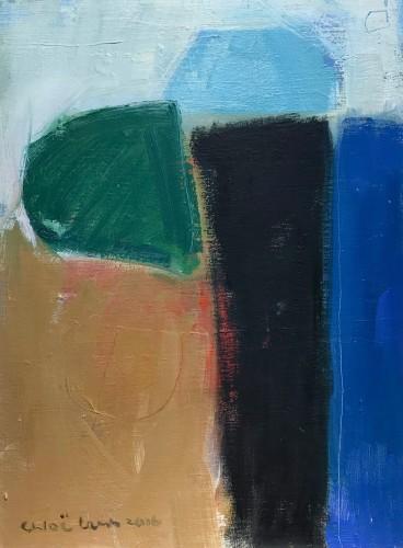 Chloë Lamb, Green Black & Blue (Hungerford Gallery)