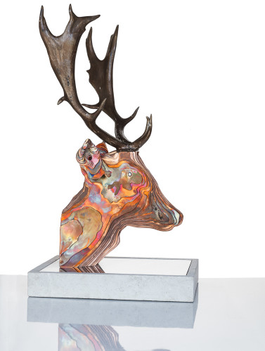Tom Hiscocks, Fallow Deer (Hungerford Gallery)