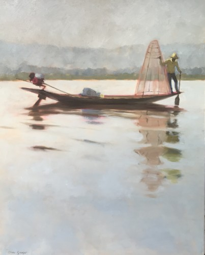 Clare Granger, Fisherman II (London Gallery)