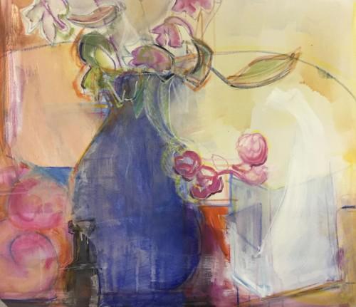 Annie Field, Blue Vase