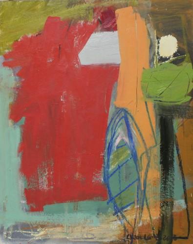 Chloë Lamb, Red Rag to a Bull (Hungerford Gallery)
