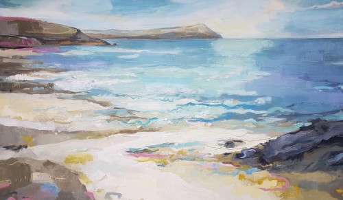 Kate Rhodes, Call of the Surf, Polzeath (Hungerford Gallery)