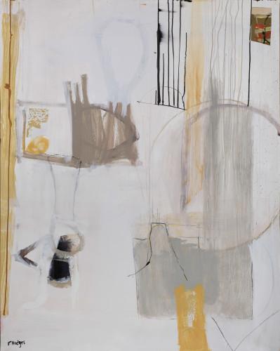 Felice Hodges, Lit Interior (London Gallery)