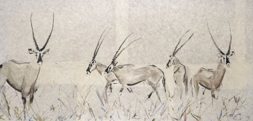 Christine Seifert, Oryx (Framed) (Hungerford Gallery)