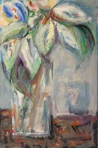 Annie Field, Lilies (Hungerford Gallery)