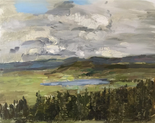 Richard Colson, Lochan na Craoibhe Seilech (Hungerford Gallery)