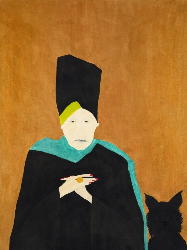 Kate Boxer, Edith Sitwell (Hungerford Gallery)