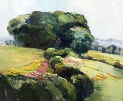 Minnie Shaw Stewart, Lambourn Downs, East Garston (Hungerford Gallery)