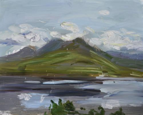 Richard Colson, Beinn Damh, Loch Torridon (Hungerford Gallery)