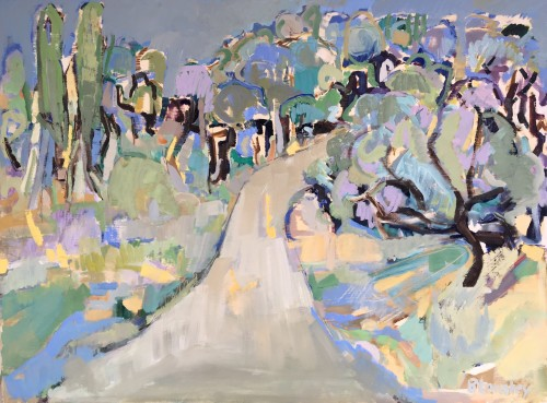 Bridget Lansley, Mediterranean Light (Hungerford Gallery)