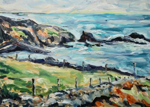 Fi Katzler, Cornish Coast (London Gallery)