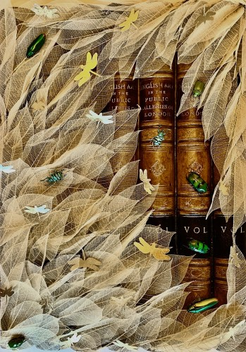 Patricia Mitchell, The Nature of Literature (London Gallery)