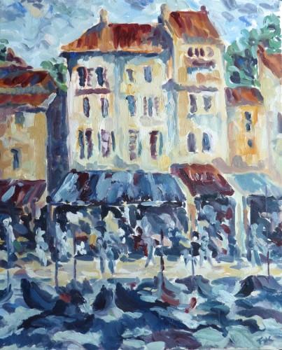 Fi Katzler, The Port of Cassis (Dew Pond Restaurant), 2015