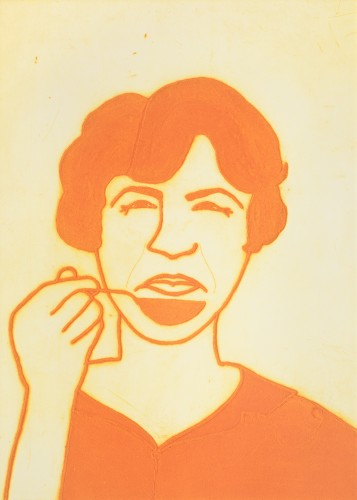 Kate Boxer, Julia Child (Mounted)