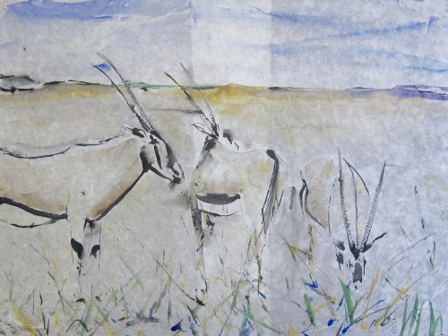 Christine Seifert, Oryx (Hungerford Gallery)