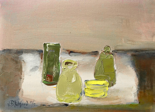 Val Pitchford, Just Four Pots (Hungerford Gallery)