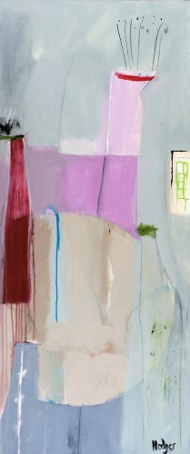 Felice Hodges, Still Life in Cerise
