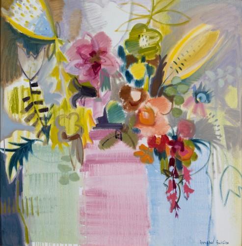 Annabel Fairfax, Vermilion and Magenta (London Gallery)
