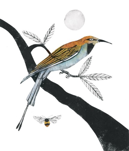 Beatrice Forshall, Bee Eater (Unframed)