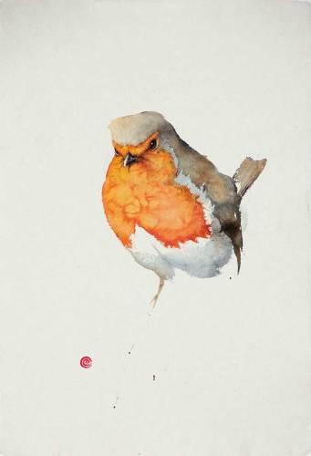 Robin I (Unframed) (Hungerford Gallery)