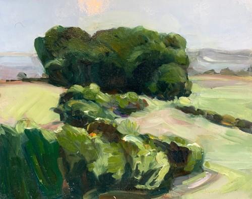 Minnie Shaw Stewart, Lambourn Downs VI (Hungerford Gallery)