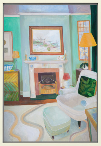 Lottie Cole, Interior with Victor Pasmore (Hungerford Gallery)