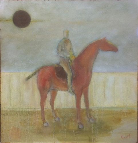 Colin Williams, Horse and Rider (Hungerford Gallery)