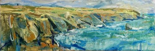 Emma Haggas, Cornish Coastline (Hungerford Gallery)