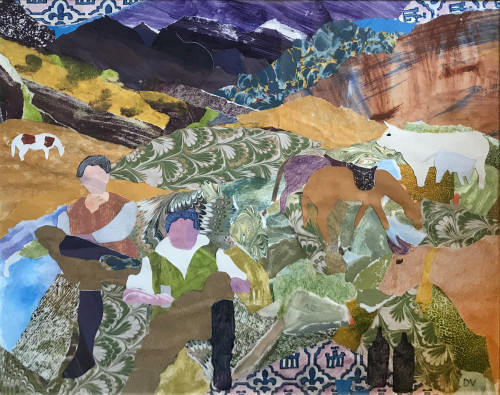 Dione Verulam, Picnic in the Pyrenees (Hungerford Gallery)