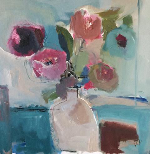 Jo Vollers, January Flowers (London Gallery)